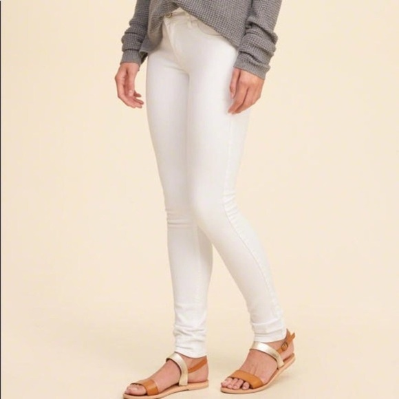 New Abercrombie & Finch | White Jeans